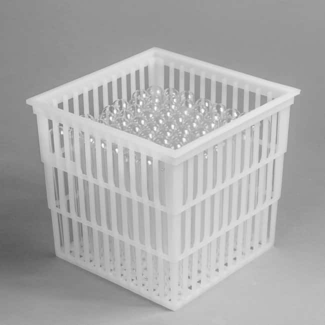 Bel-Art SP Scienceware Test Tube Basket  Without lid; 152 x 152 x 152mm:Racks,