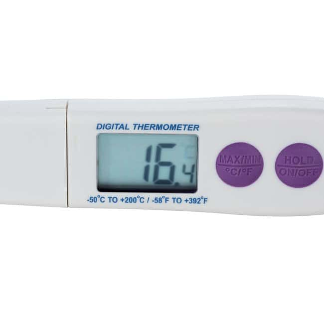 SP Bel-ArtDurac Calibrated Electronic Stainless Steel Stem Thermometer:Thermometers