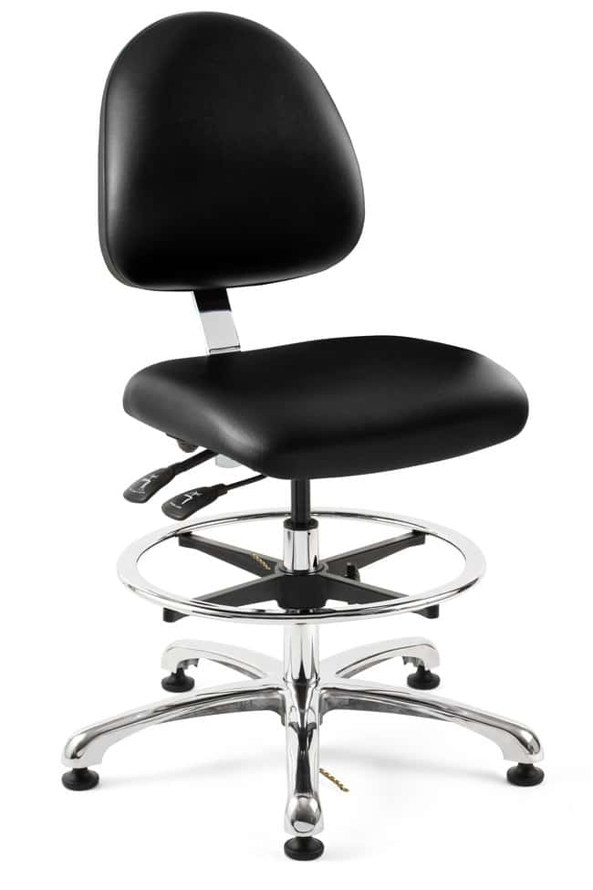 BevcoIntegra Tiltable ESD/Cleanroom Vinyl Chair:Furniture:Seating