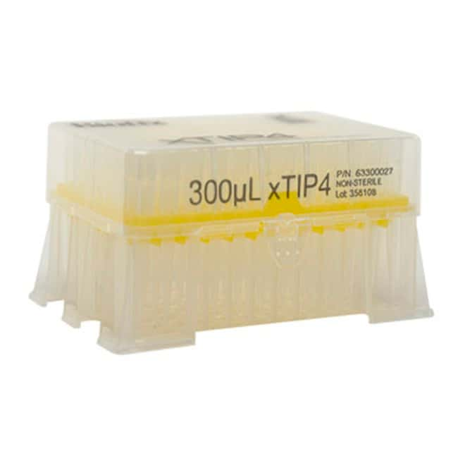 BIOTIXRainin LTS Compatible Racked Filter Tips 300μL; Yellow:Pipette