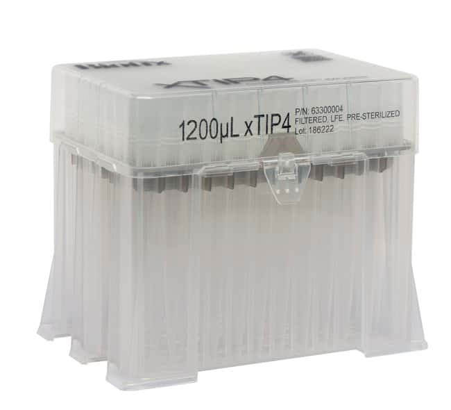 BIOTIXRainin LTS Compatible Racked Filter Tips 1200μL; Gray:Pipette