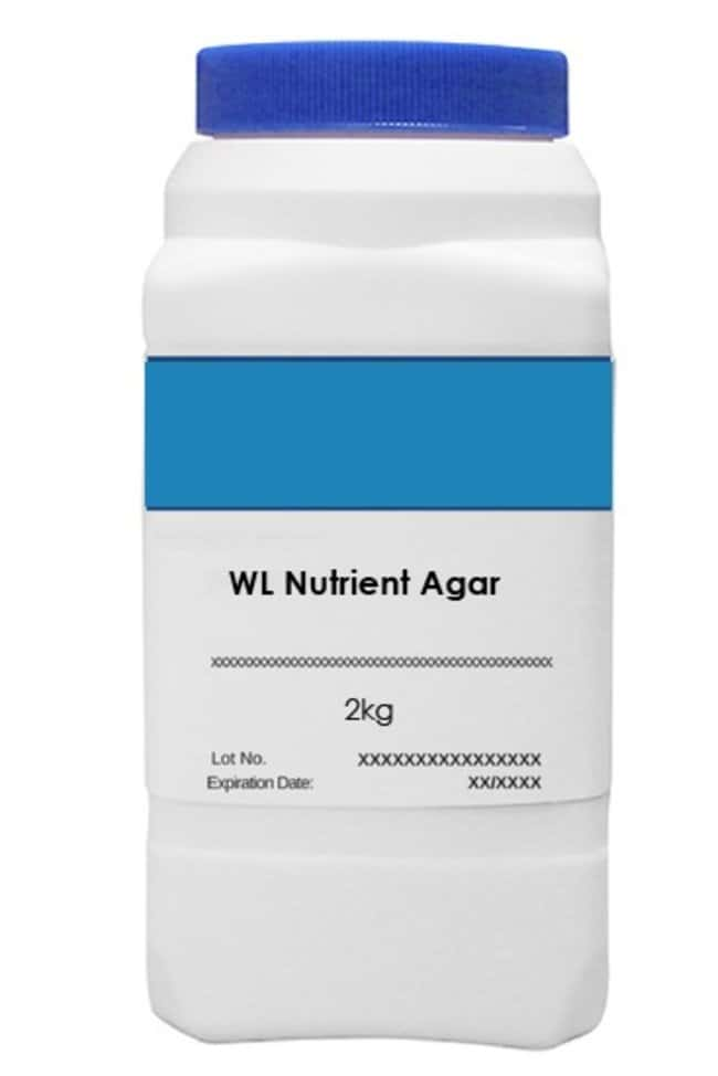 Brew Plate WL NUTRIENT AGAR - 2KG  2Kg:Cell Culture