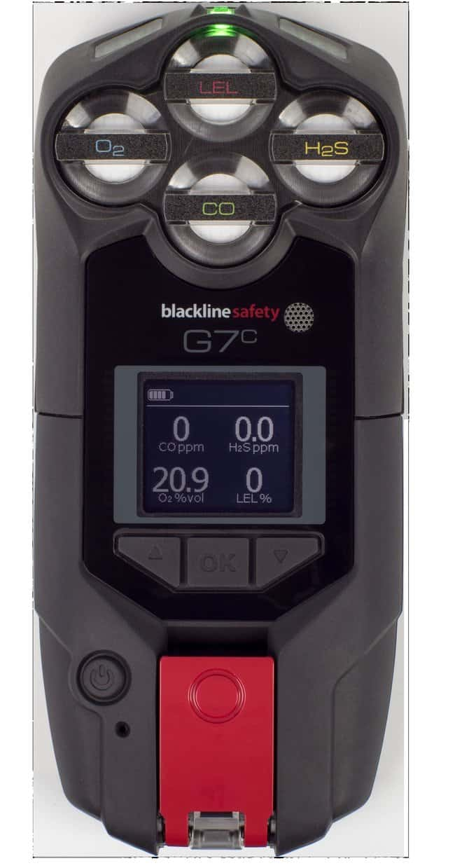 Blackline SafetyG7c Cellular Wireless Connected Safety Device SensorTypes: