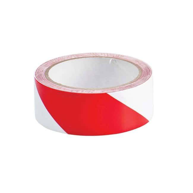 Brady Marking Tape Roll: High Performance Laminated Vinyl, Diagonal Stripes,