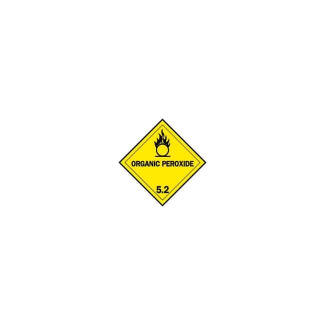 Brady Hazardous Material Shipping Labels - Adhesive Vinyl ORGANIC PEROXIDE