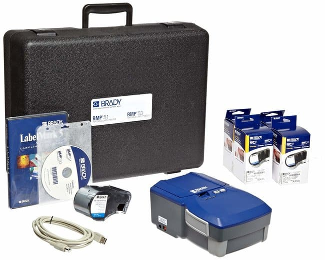 Brady BMP53 Label Printer with Electrical Supply Kit BMP™53 Label
