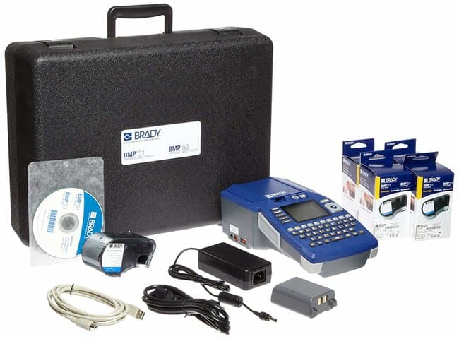 Brady BMP51 Label Printer with Electrical Supply Kit BMP™51 Label