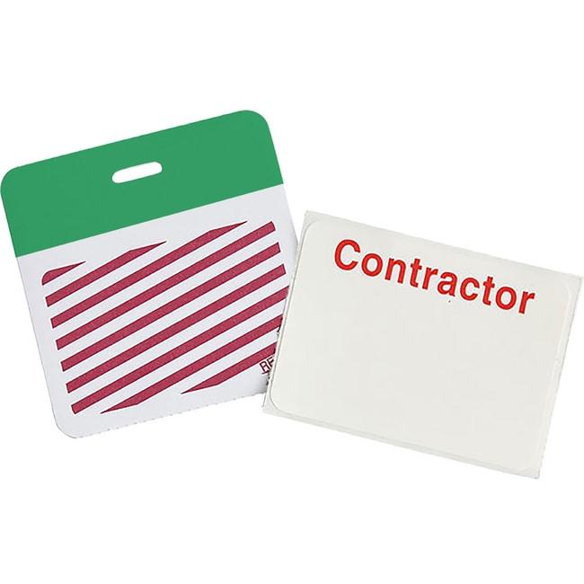 Brady SecurAlert Clip-On Badges :Gloves, Glasses and Safety