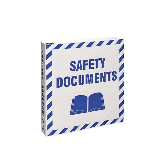 Brady Safety Documents Binder Safety Documents Binder