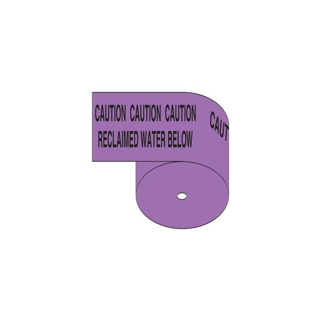Brady Identoline Underground Tape Roll - Heavy-Duty Polyethylene, CAUTION
