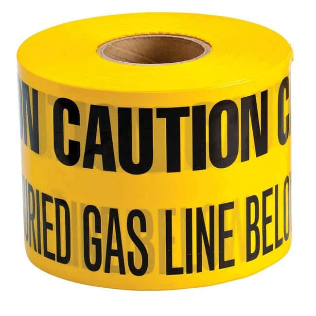 Brady Identoline Underground Tape Roll - Heavy-Duty Polyethylene, CAUTION