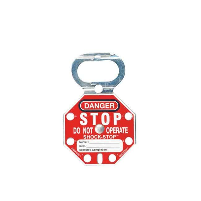Brady SHOCK-STOP Lockout Hasps SHOCK-STOP™ Lockout Hasps:Gloves, Glasses