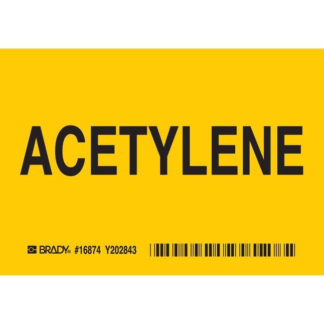 Brady Chemical, Biohazard & Hazardous Material Label - Self-Sticking Polyester