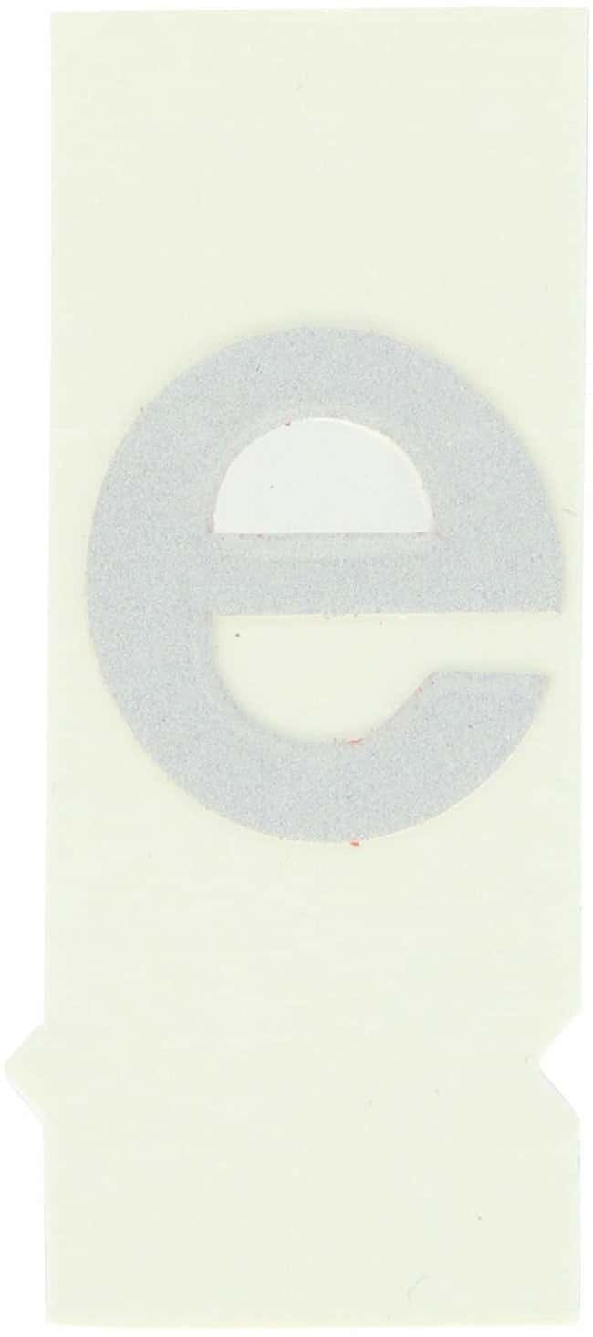 Brady Reflective Quik-Lite Ten Packs - Printed Letter Lower Case: e:Gloves,