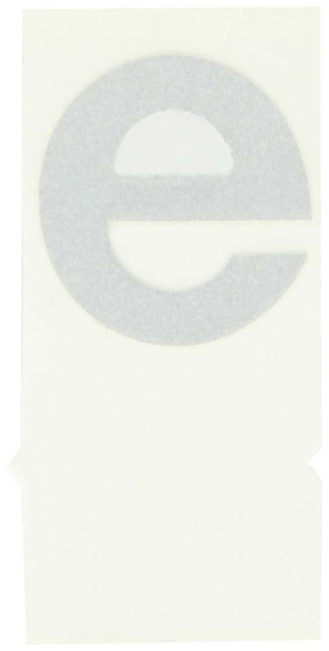 Brady Reflective Quik-Lite Ten Packs - Printed Letter Lower Case: e Character