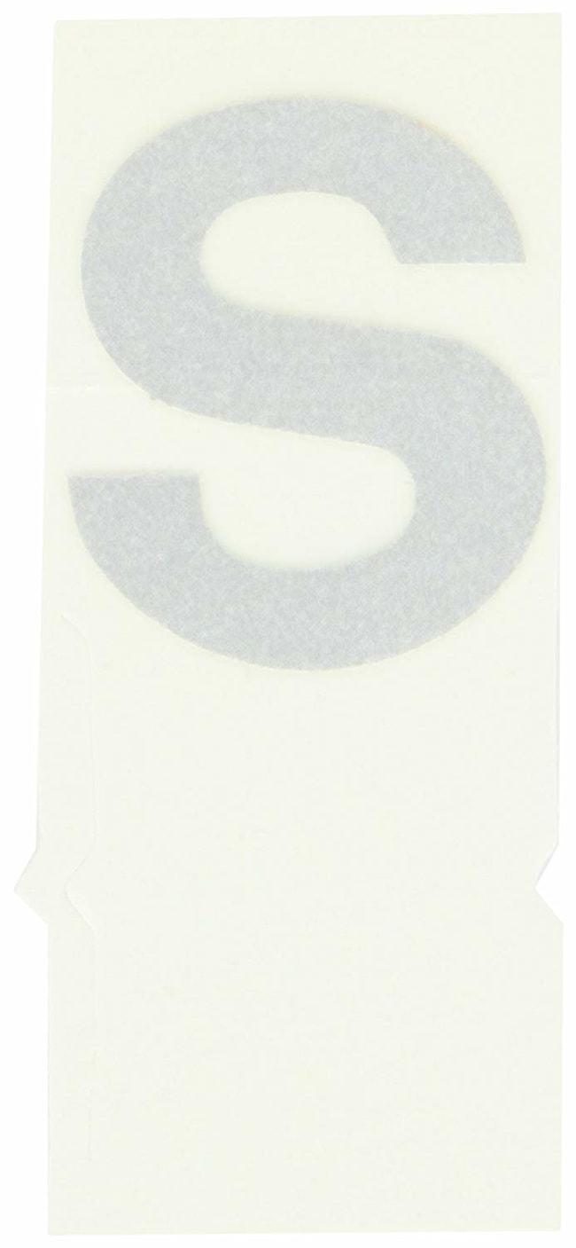 Brady Reflective Quik-Lite Ten Packs - Printed Letter Lower Case: s:Gloves,
