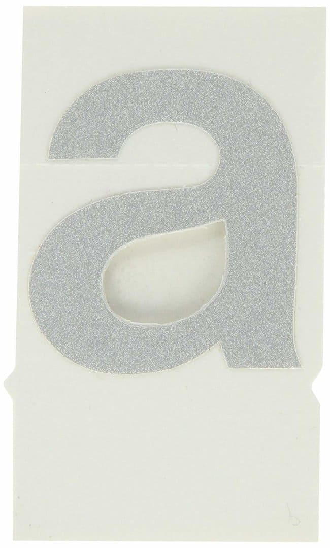 Brady Reflective Quik-Lite Ten Packs - Printed Letter Lower Case: a:Gloves,