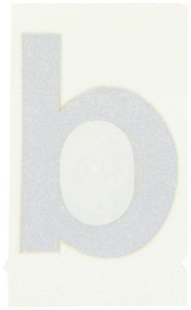 Brady Reflective Quik-Lite Ten Packs - Printed Letter Lower Case: b Character