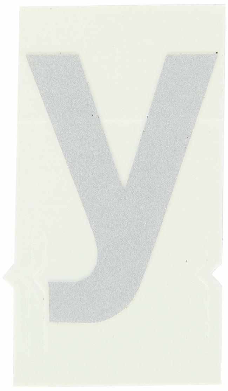 Brady Reflective Quik-Lite Ten Packs - Printed Letter Lower Case: y:Gloves,