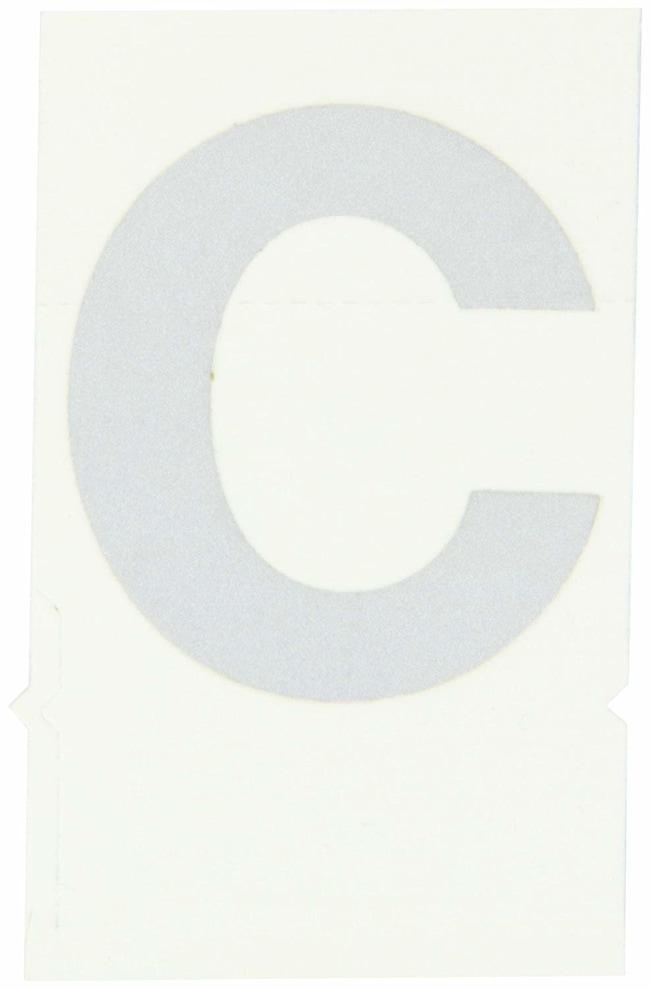 Brady Reflective Quik-Lite Ten Packs - Printed Letter Lower Case: c:Gloves,