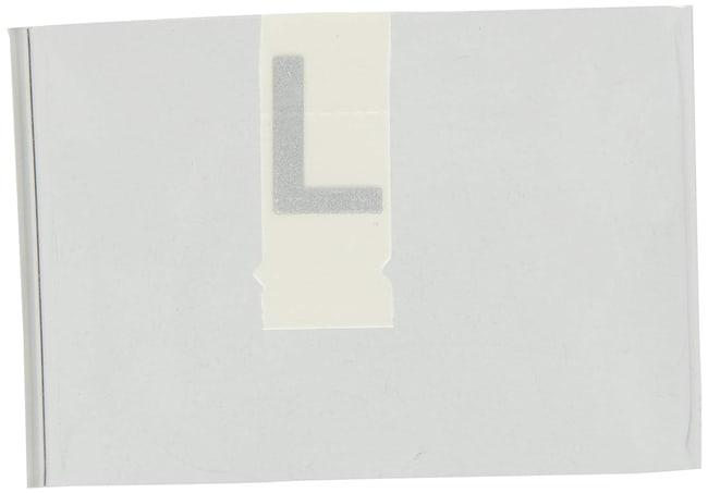 Brady Reflective Quik-Lite Ten Packs - Printed Letter Upper Case: L:Gloves,