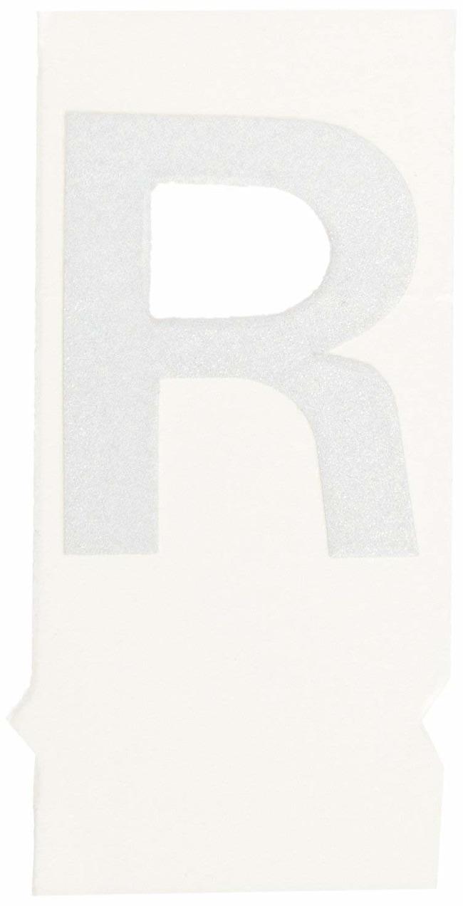 Brady Reflective Quik-Lite Ten Packs - Printed Letter Upper Case: R:Gloves,