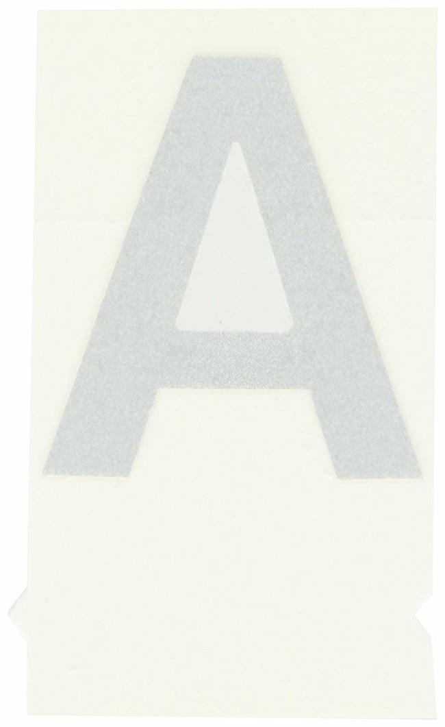 Brady Reflective Quik-Lite Ten Packs - Printed Letter Upper Case: A Character