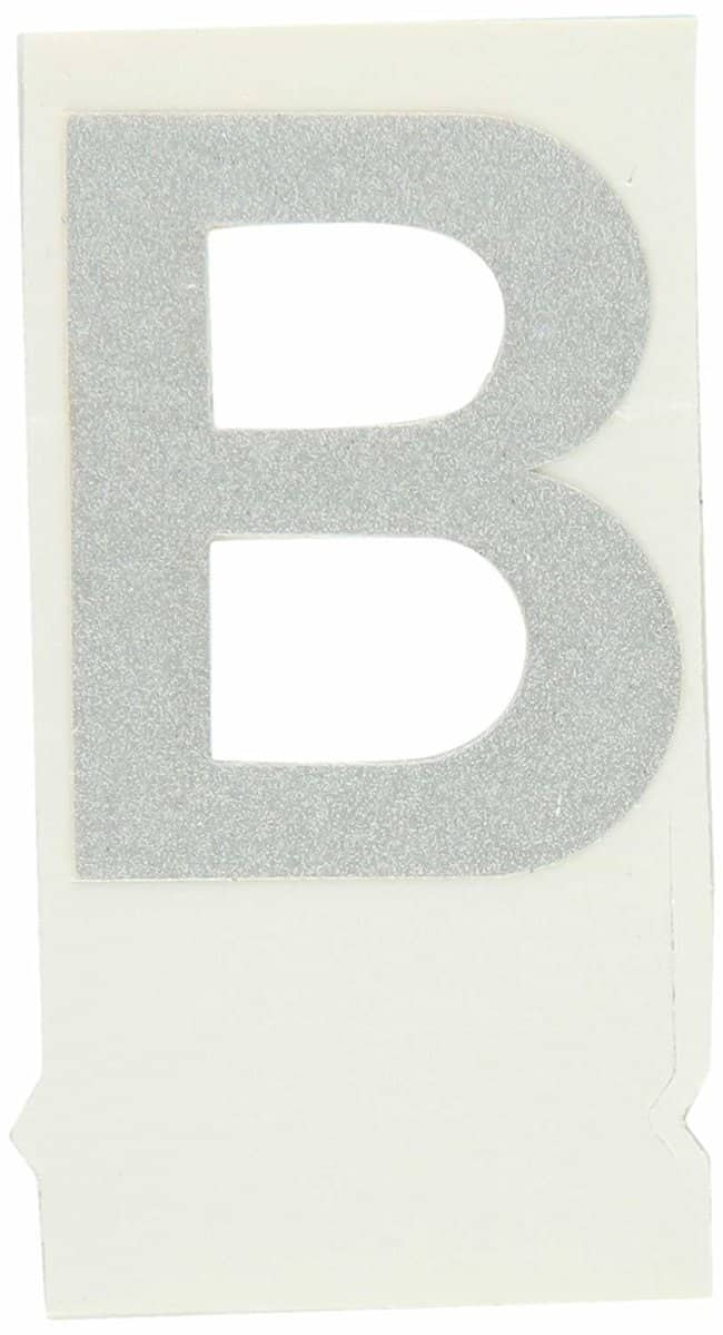 Brady Reflective Quik-Lite Ten Packs - Printed Letter Upper Case: B:Gloves,