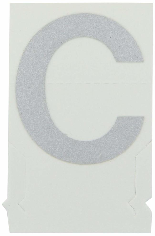 Brady Reflective Quik-Lite Ten Packs - Printed Letter Upper Case: C:Gloves,