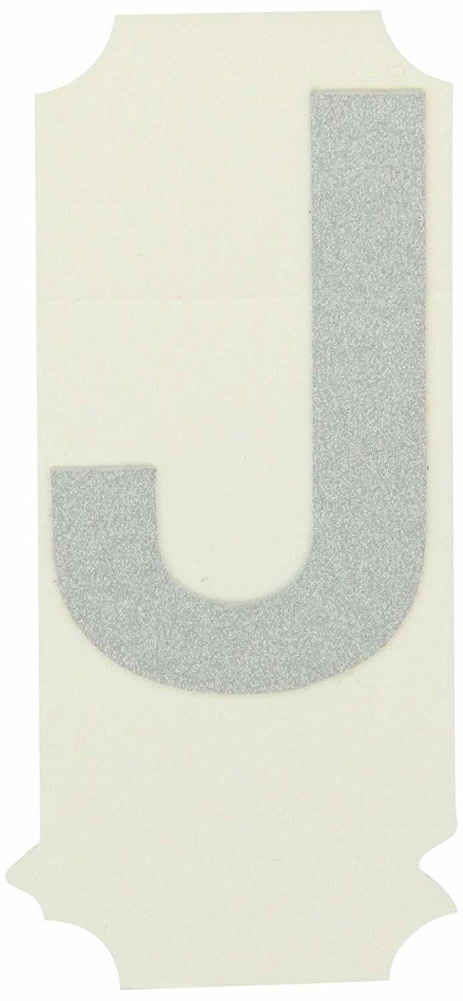 Brady Reflective Quik-Lite Ten Packs - Printed Letter Upper Case: J:Gloves,