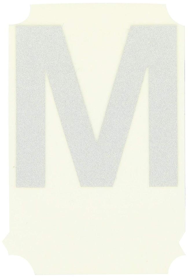Brady Reflective Quik-Lite Ten Packs - Printed Letter Upper Case: M:Gloves,