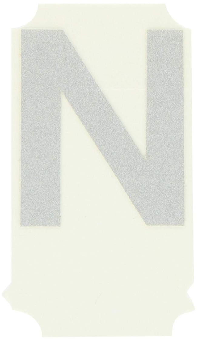 Brady Reflective Quik-Lite Ten Packs - Printed Letter Upper Case: N:Gloves,