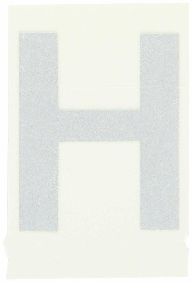 Brady Reflective Quik-Lite Ten Packs - Printed Letter Upper Case: H:Gloves,