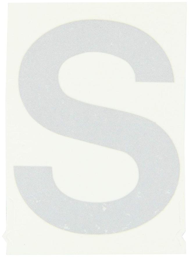 Brady Reflective Quik-Lite Ten Packs - Printed Letter Upper Case: S:Gloves,