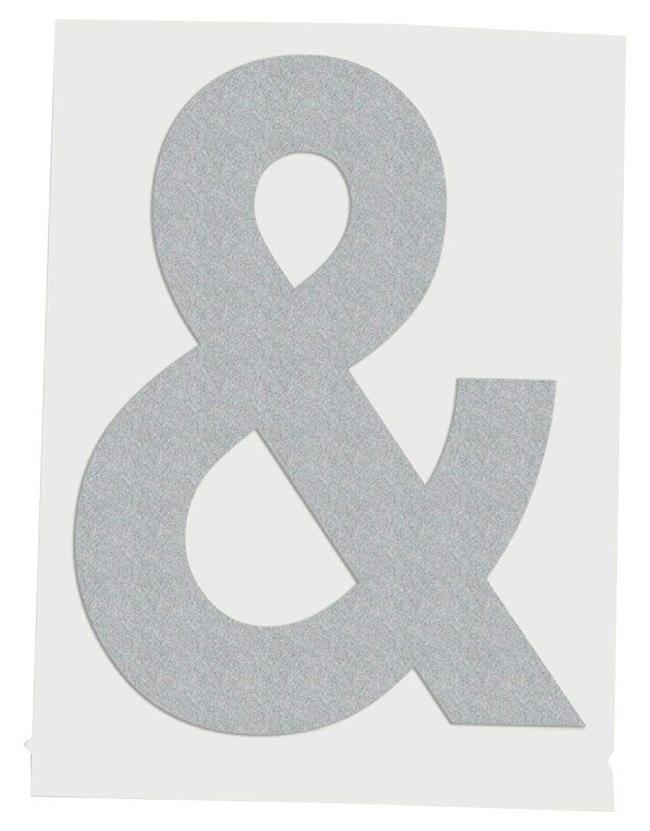 Brady Reflective Quik-Lite Ten Packs - Printed Symbol: & (Ampersand):Gloves,