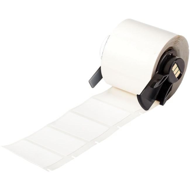 Brady™BMP™71 TLS 2200™ Series Defender™ Tamper Resistant Vinyl Labels - White 1 in H x 1.5 in W Brady™BMP™71 TLS 2200™ Series Defender™ Tamper Resistant Vinyl Labels - White
