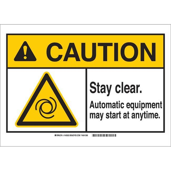 Brady Polystyrene Sign: COMPRESSED AIR. IMPROPER RELEASE COULD RESULT IN
