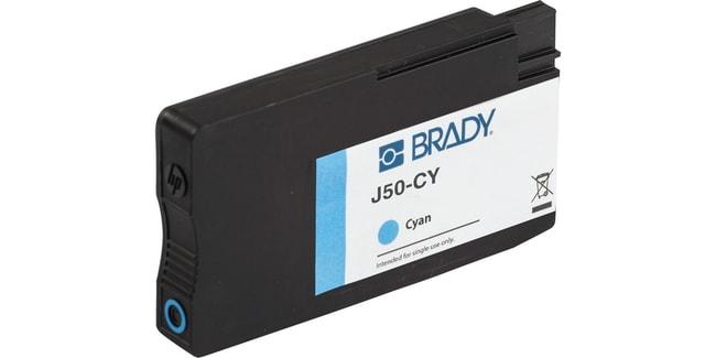 BradyJ50 Series Printer Ink - Cyan J50 Series Printer Ink - Cyan:Gloves,