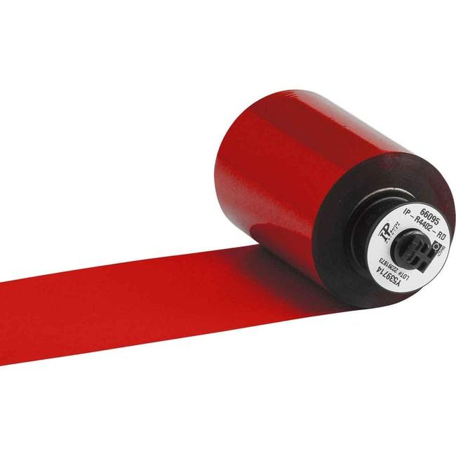 Brady BRADY IP Series Printer Ribbon - R4400 Resin, Red BRADY IP™