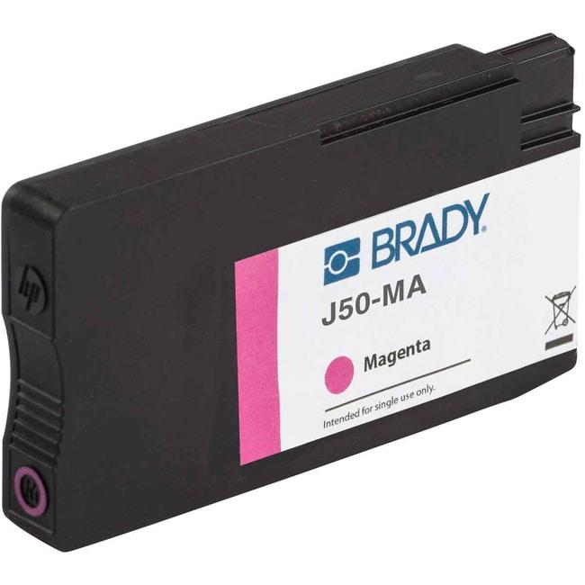 Brady J50 Series Printer Ink - Magenta J50 Series Printer Ink - Magenta:Gloves,