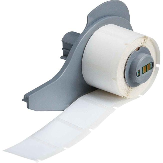 Brady™BMP™71 Series WorkHorse™ Permanent Polyester Labels - White 1 in H x 1 in W Brady™BMP™71 Series WorkHorse™ Permanent Polyester Labels - White