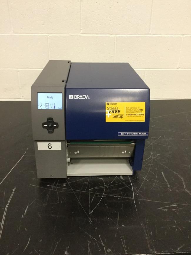Brady Bradyprinter PR360 Plus Printer with Peel & Present Bradyprinter™