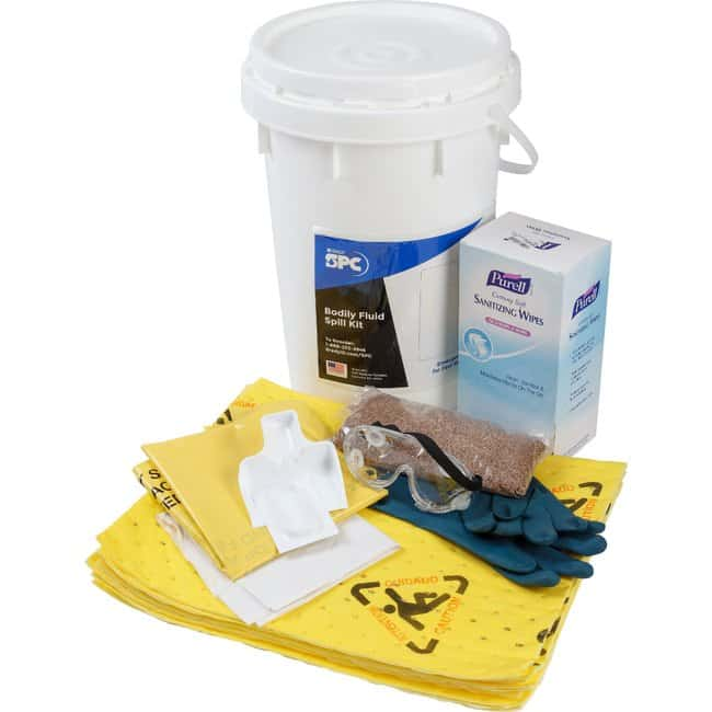 Brady Bodily Fluids Specialty Spill Kit Bodily Fluids Specialty Spill Kit:Gloves,