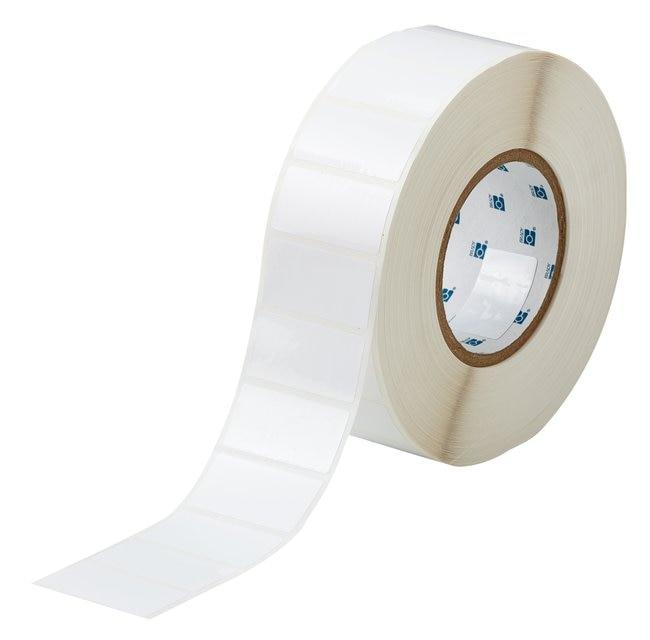 Brady™ToughBond™ Serie robuste Polyesteretiketten mit offenem 3in-Kern Oberfläche: Glanz; Größe: 1ZollHx 2ZollB Brady™ToughBond™ Serie robuste Polyesteretiketten mit offenem 3in-Kern