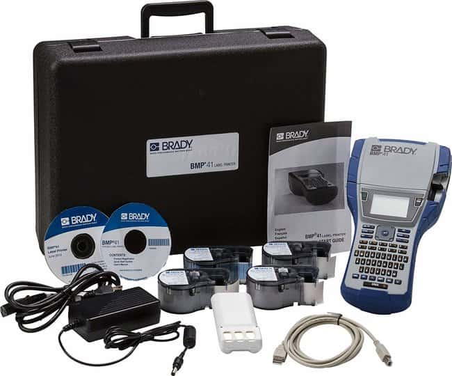 Brady BMP41 Label Printer with DataComm Supply Kit BMP™41 Label Printer