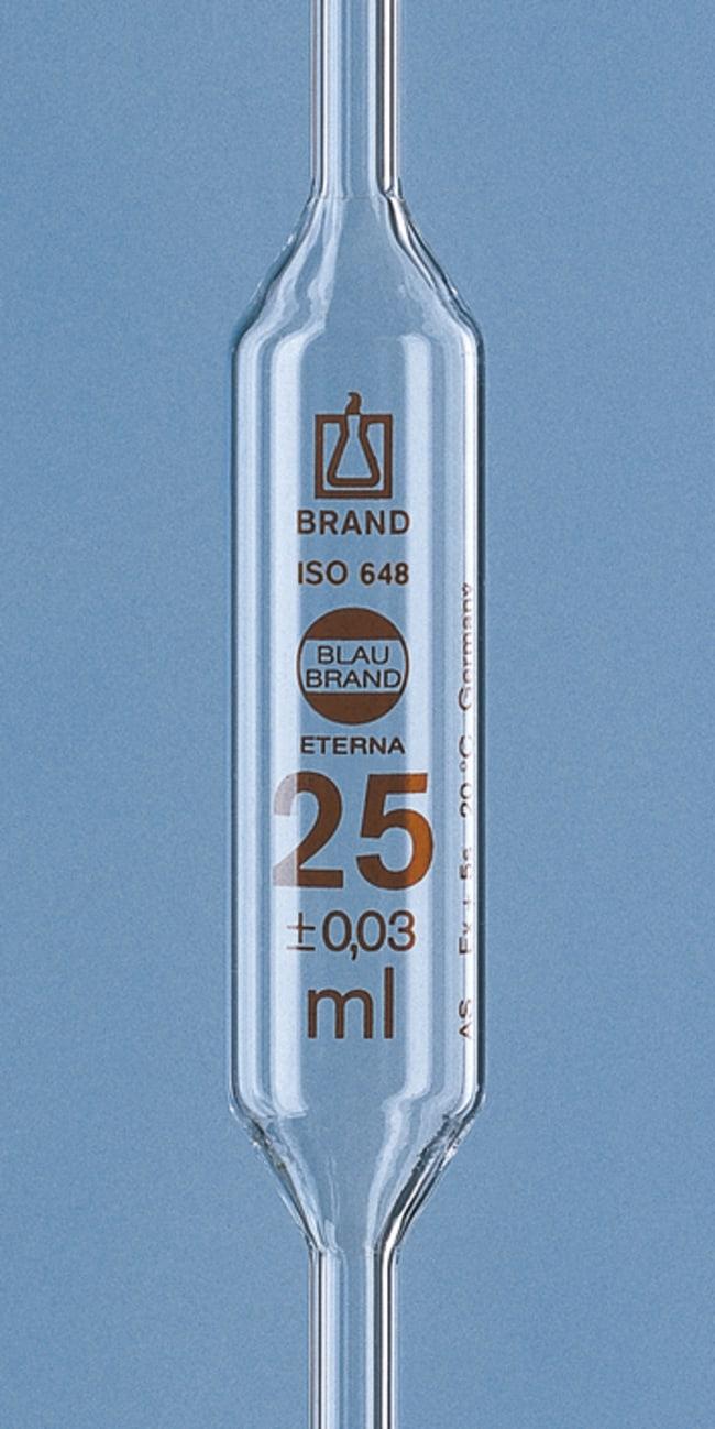Brand™Pipetas volumétricas de clase AS Blaubrand™ Eterna™ Capacidad: 10ml Ver productos