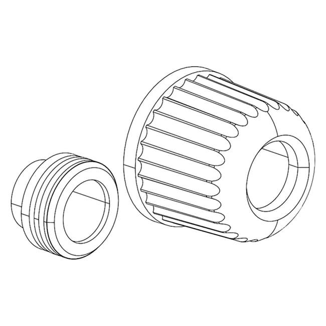BUCHICap Nut Seal Set, 10 pcs. Cap Nut Seal:Evaporators