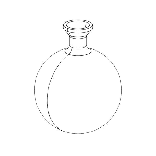 BUCHILow Temperature Receiving Flask 250 mL:Evaporators