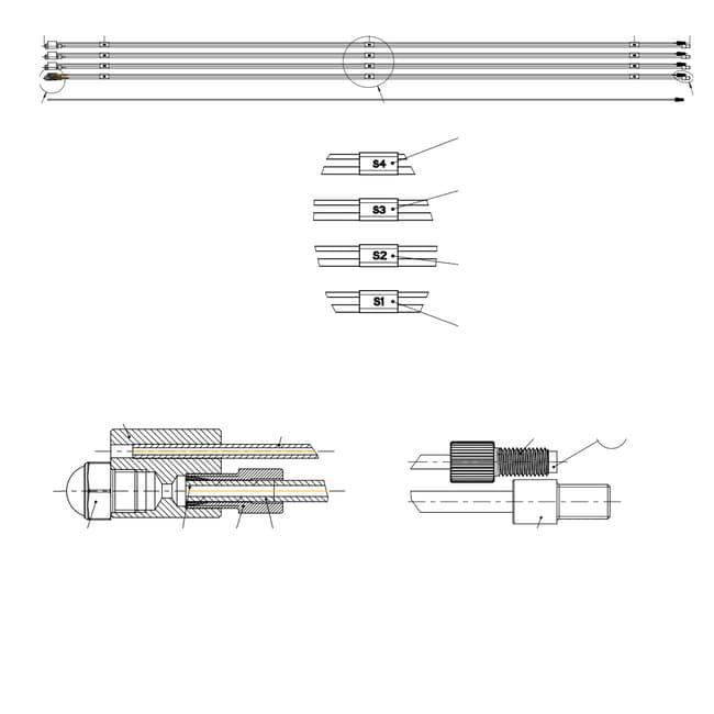 BUCHIPure Solvent Line Kit Pure Chromatography Systems:Chromatography Columns
