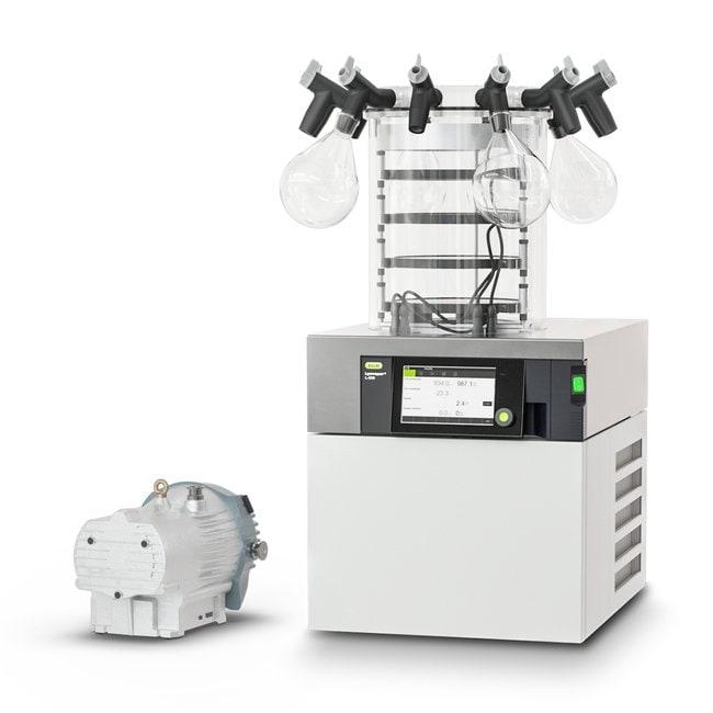 BUCHILyovapor L-200 Pro Control Freeze Dryer Heatable Shelves 4, Manifold